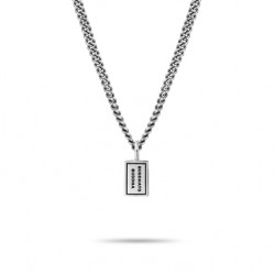 Buddha to buddha zilver Essential Necklace - 53703